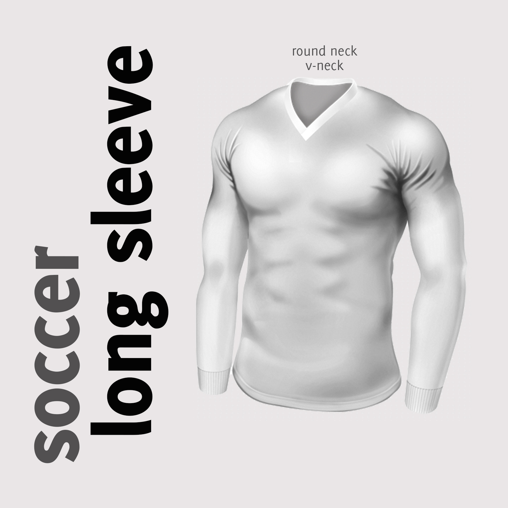 Soccer long sleeve